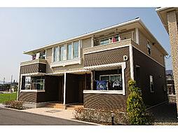 徳島県板野郡藍住町住吉字神蔵の賃貸アパートの外観