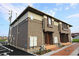 徳島県板野郡藍住町矢上字原の賃貸アパートの外観