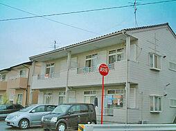 愛知県知立市八橋町町田の賃貸アパートの外観