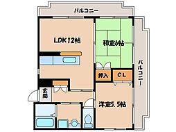 ピアパークII[3階]の間取り