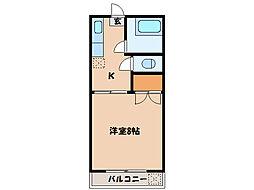 サーヤコーポ寿[2階]の間取り