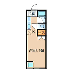 ハイグレードマンション[203号室]の間取り