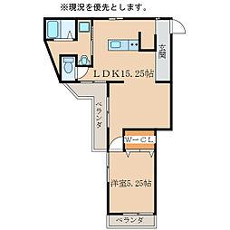 GROOVE KANOYA[1階]の間取り
