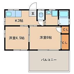 児玉アパート  [2階]の間取り