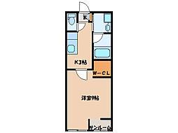 kina・BaseI[1階]の間取り