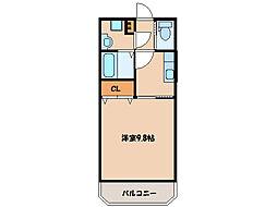 ピアパークIII[2階]の間取り