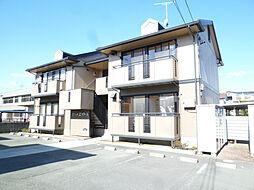 静岡県浜松市中区新津町の賃貸アパートの外観