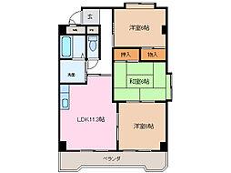 第3横吹小菅ビル[3階]の間取り