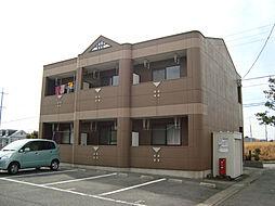 愛知県名古屋市緑区平手北1丁目の賃貸アパートの外観