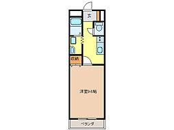 愛知県名古屋市緑区鳥澄2丁目の賃貸マンションの間取り