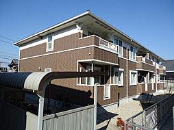 愛知県名古屋市緑区大高町字西門田の賃貸アパートの外観