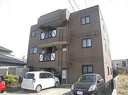 愛知県名古屋市緑区桶狭間森前の賃貸マンションの外観