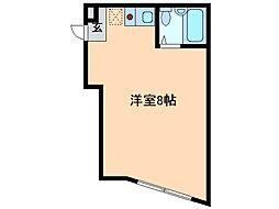 池上館[3階]の間取り