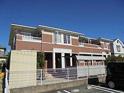 愛知県豊明市新栄町3丁目の賃貸アパートの外観