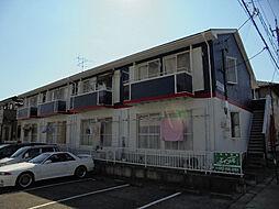 愛知県名古屋市緑区梅里2丁目の賃貸アパートの外観