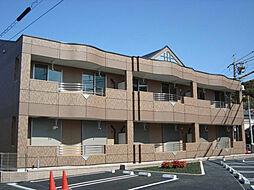 愛知県名古屋市緑区鳴海町字森下の賃貸アパートの外観