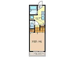 隠れ家 KAKUREGA[2階]の間取り