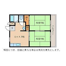 いづみニューハイツ[2階]の間取り