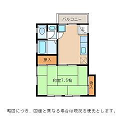 ハイツアルファ[2階]の間取り