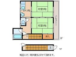 Jプラザ[2階]の間取り