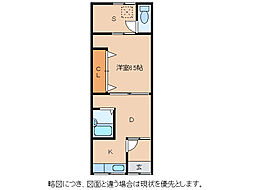 青葉荘[2階]の間取り