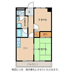 ベネツィアマンション[3階]の間取り