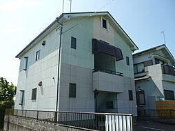 滋賀県愛知郡愛荘町野々目の賃貸アパートの外観
