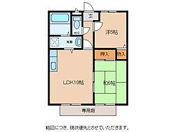 リヴィエール神子沢[1階]の間取り