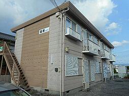 滋賀県東近江市五個荘河曲町の賃貸アパートの外観