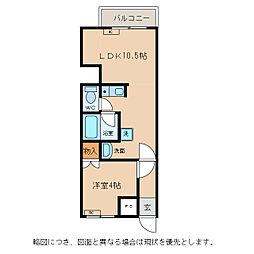 HEART桜館[2階]の間取り