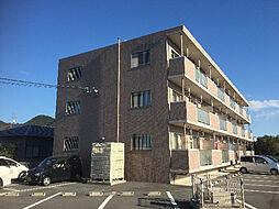 鹿児島県姶良市東餅田の賃貸マンションの外観