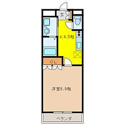 オーレスト・ハイム[2階]の間取り
