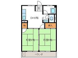 加納ビル[5階]の間取り