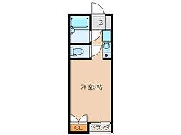 SKYROCKET Ⅱ[1階]の間取り