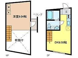 Mnet2[2階]の間取り