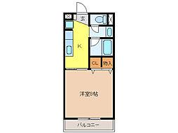 Sunset Nishizawa[2階]の間取り