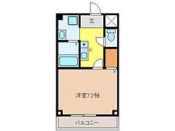 木曽川ハイツ[2階]の間取り