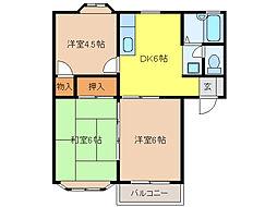ASA・2[2階]の間取り