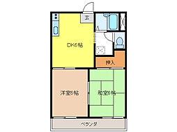 Crescend SAKAI II[2階]の間取り