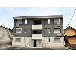 愛知県岡崎市昭和町字神郷の賃貸アパートの外観
