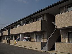 茨城県古河市諸川の賃貸アパートの外観