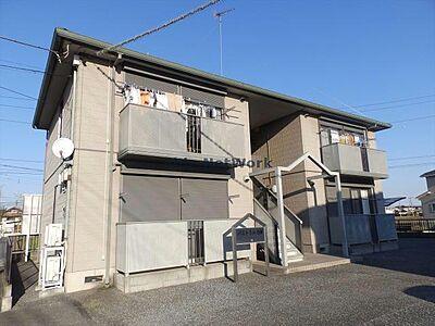 外観,2DK,面積43.75m2,賃料5.0万円,JR東北本線 古河駅 徒歩35分,,茨城県古河市上辺見