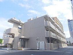 茨城県古河市本町1丁目の賃貸マンションの外観