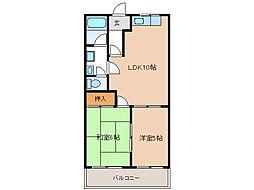 メモリアルコーポI[2階]の間取り