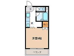 Surplus KATO B[2階]の間取り