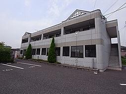 岐阜県羽島市竹鼻町蜂尻の賃貸アパートの外観
