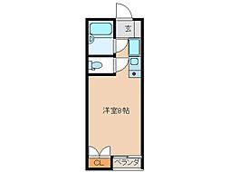 SKYROCKET II[1階]の間取り