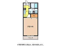 ドマーニ羽島[2階]の間取り
