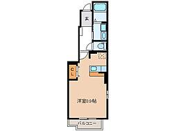 ケイガクII[1階]の間取り