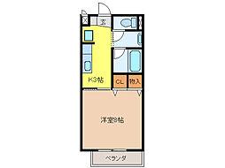SURPLUS I FULL HOUSE[1階]の間取り